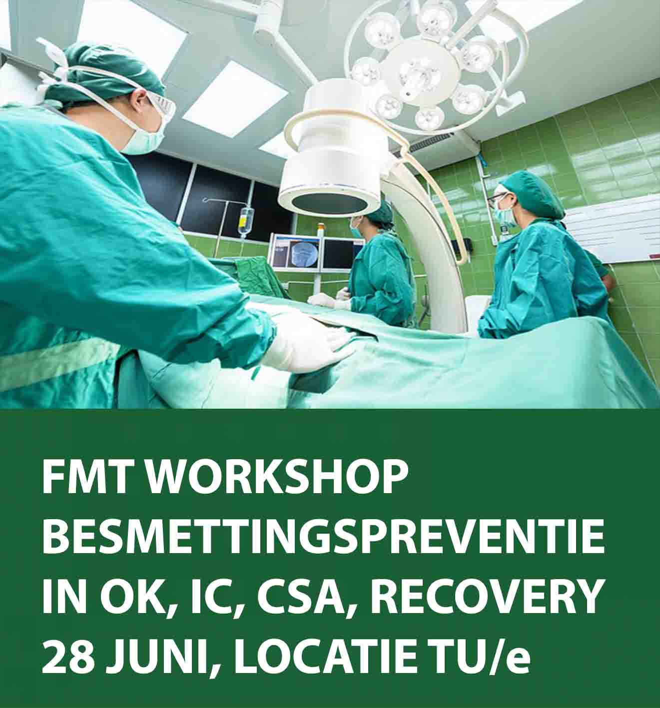 Workshop besmettingspreventie