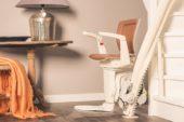 Veilig thuis blijven wonen, bereikbaarder door komst hergebruikte traplift