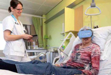 VR-bril neemt pijn en stress weg bij patiënten ETZ