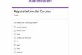 Coronaz website kan toestroom niet aan